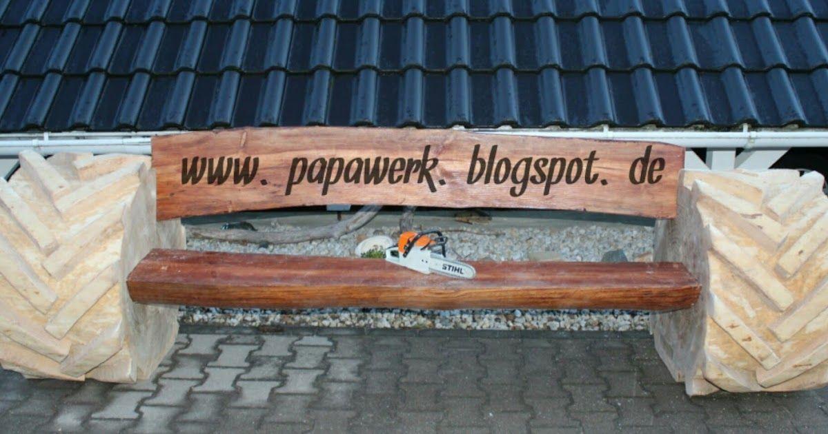 Papawerk Manner Holz Und Kettensagen Rustikale Bank Gartenmobel Ab Schlepperbank Gartenbank Holzbank Mit Bierhalter Rustikale Bank Bank Into The Woods