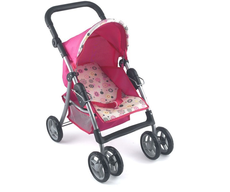 dollsworld 4 wheel stroller
