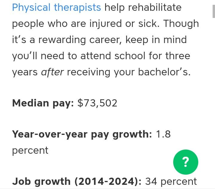 Job - Physical Therapist - 2 If We Only Knew Pinterest