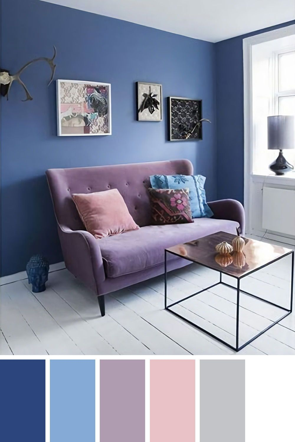 25 Gorgeous Living Room Color Schemes to Make Your Room Cozy ...