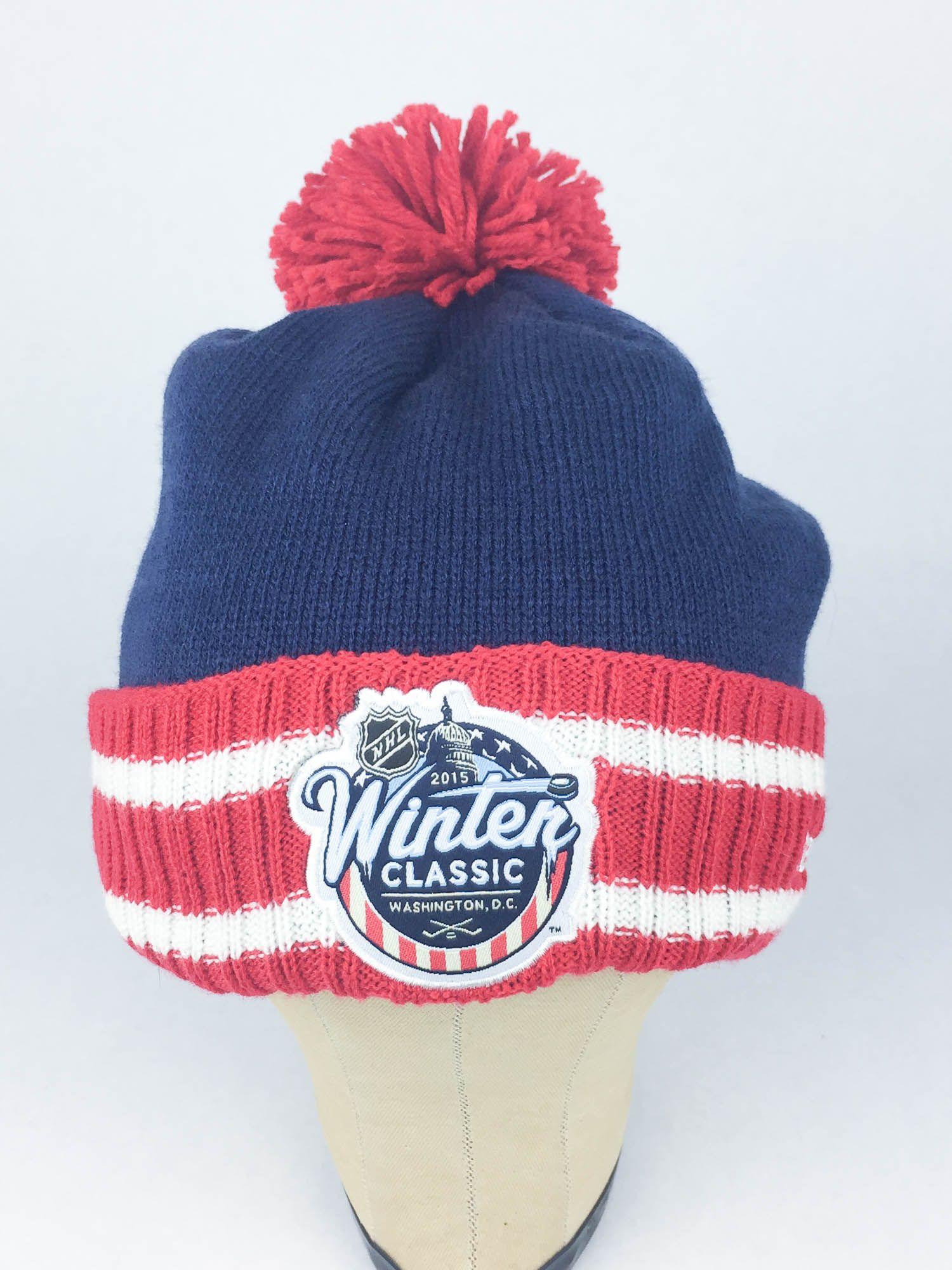 706ae4cbc1c286 NHL 2015 Winter Classic - Washington DC - Knit Pom Hat by Reebok on  Blamm.com