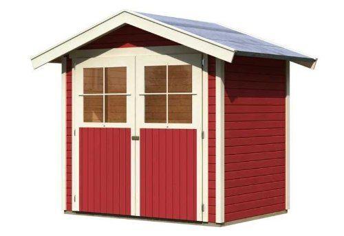19 mm Gartenhaus in Systembauweise. Einfache Montage durch