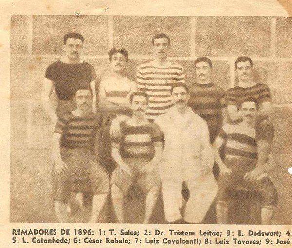 Nossa origem - 1896 - o REMO tem importância gigantesca na história do FLAMENGO. Assim começou o clube, em 1895. Somos um Clube de Regatas.