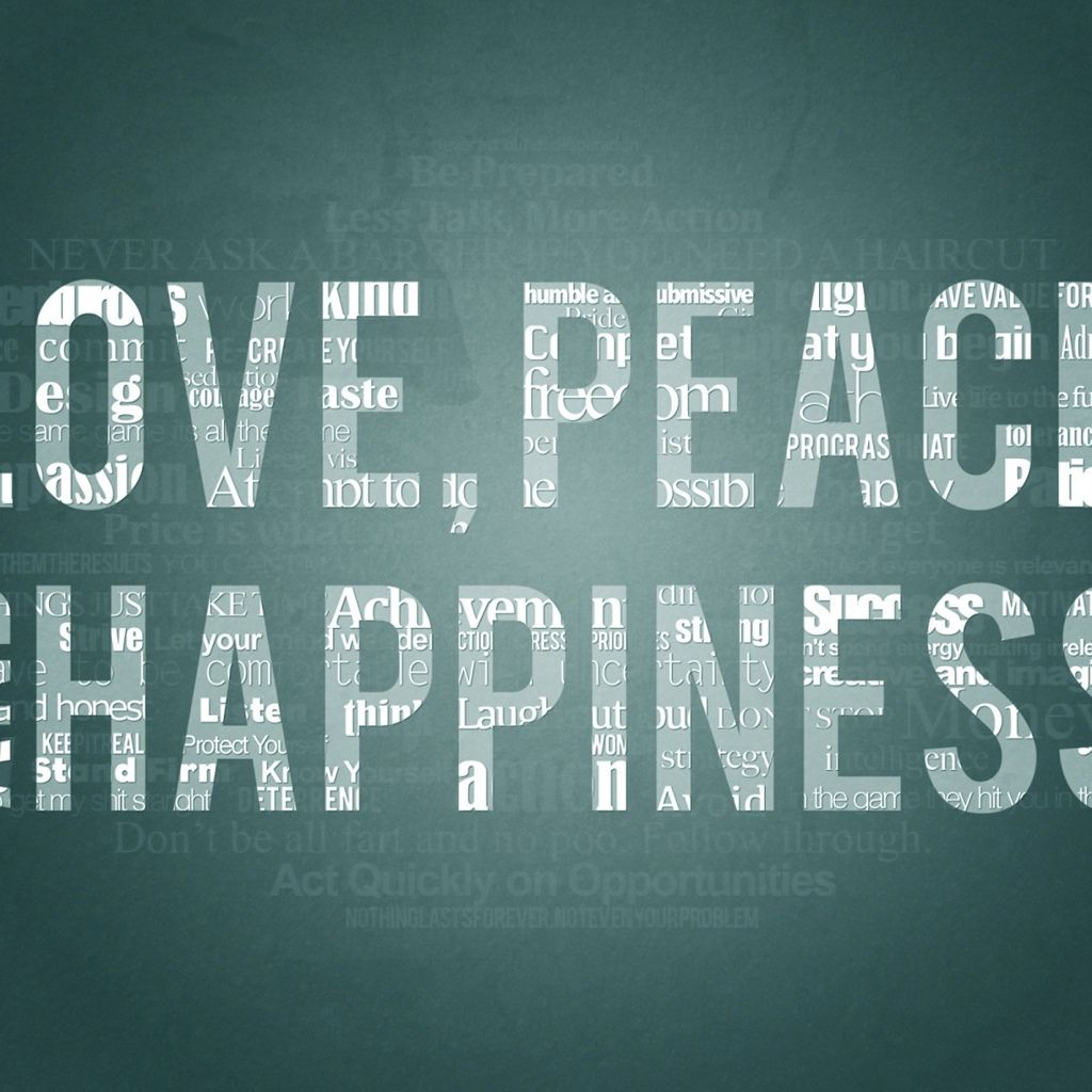Peace Love And Happiness Quotes Best Love Peace And Happiness  Greetings  Graphic Design & Logos