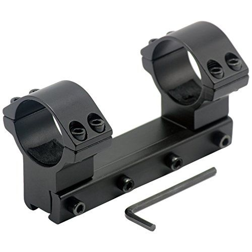 Aimfiree Tactical Dual 30mm Picatinny Scope Mount Rings For 11mm Dovetail Rails Click Image For More Details Gun Scope Mount