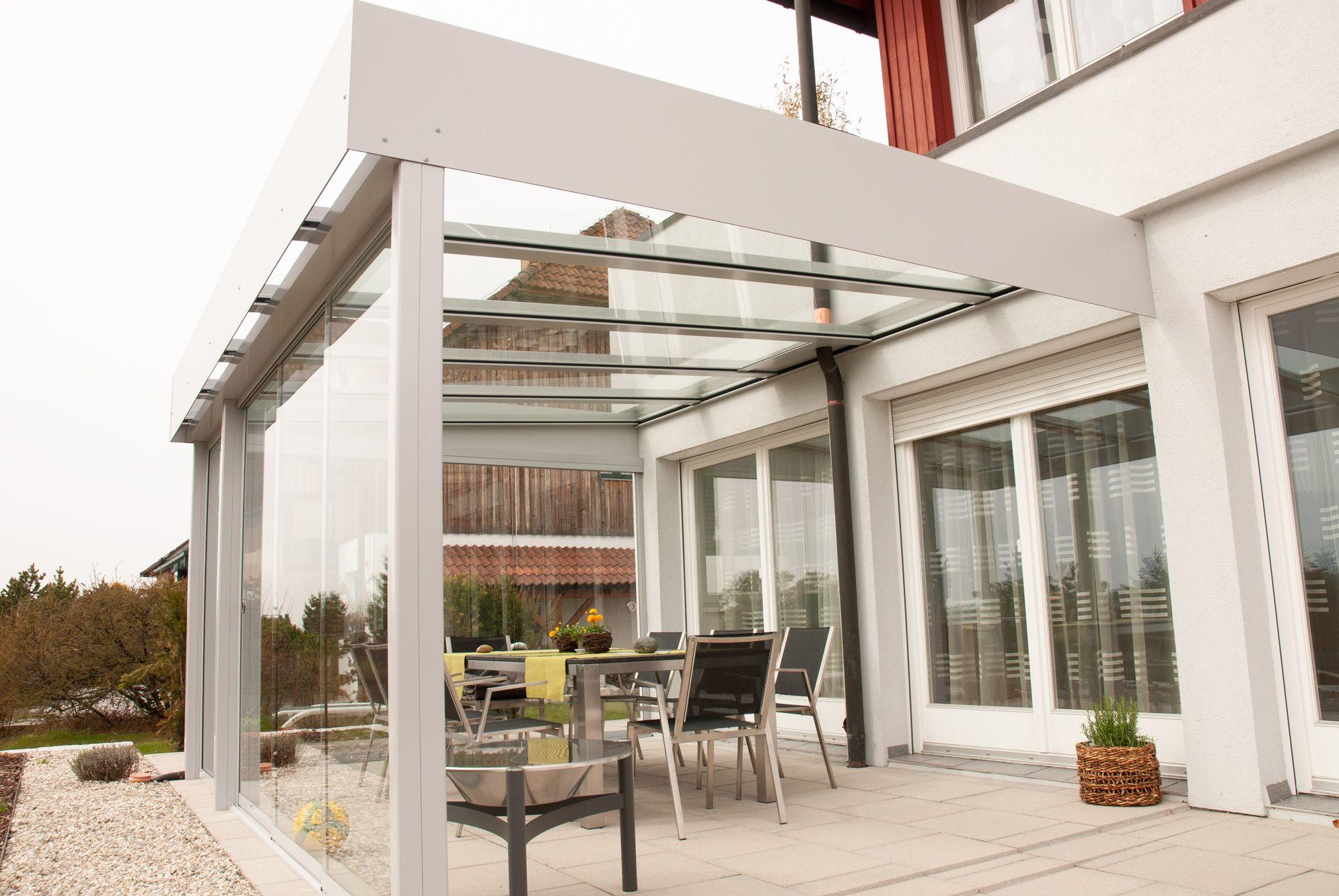 Glasüberdachungen für Terrassen   Überdachung terrasse ...