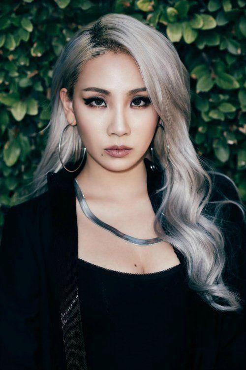 Cl From 2ne1 Blonde Asian Beauty Hair