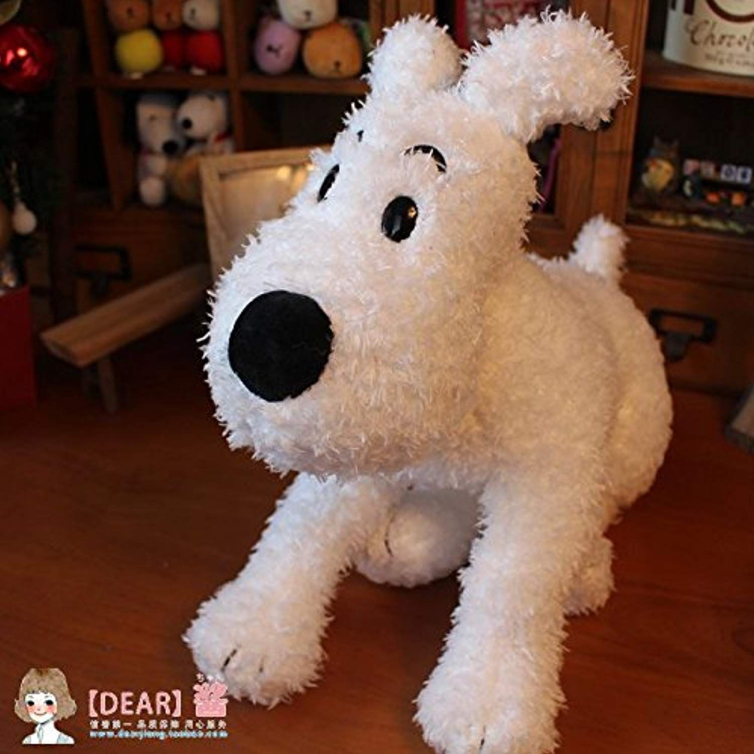 38 Cm The Adventure Of Tintin Snowy Dog Stuff Toy Be Sure To