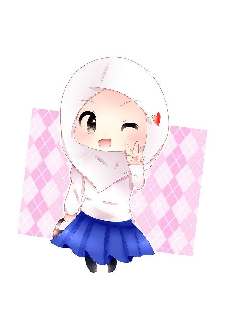 Hijab Chibi Girl By Fanda27