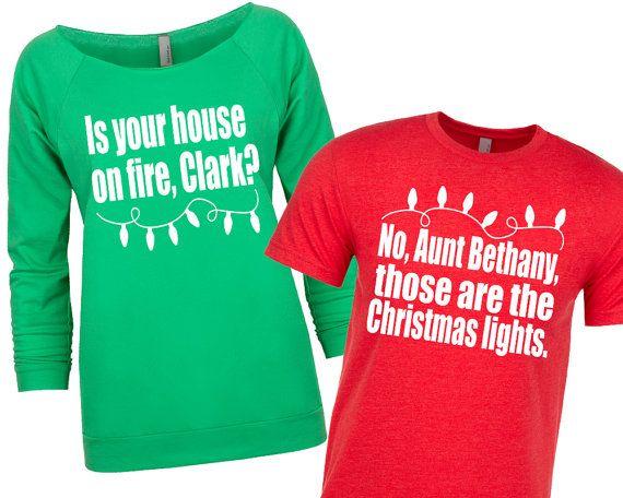 Matching Christmas Shirts Christmas Sweater Couple S Christmas