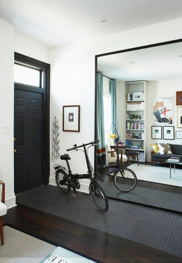 redoutable miroir geant design Décoration française Pinterest