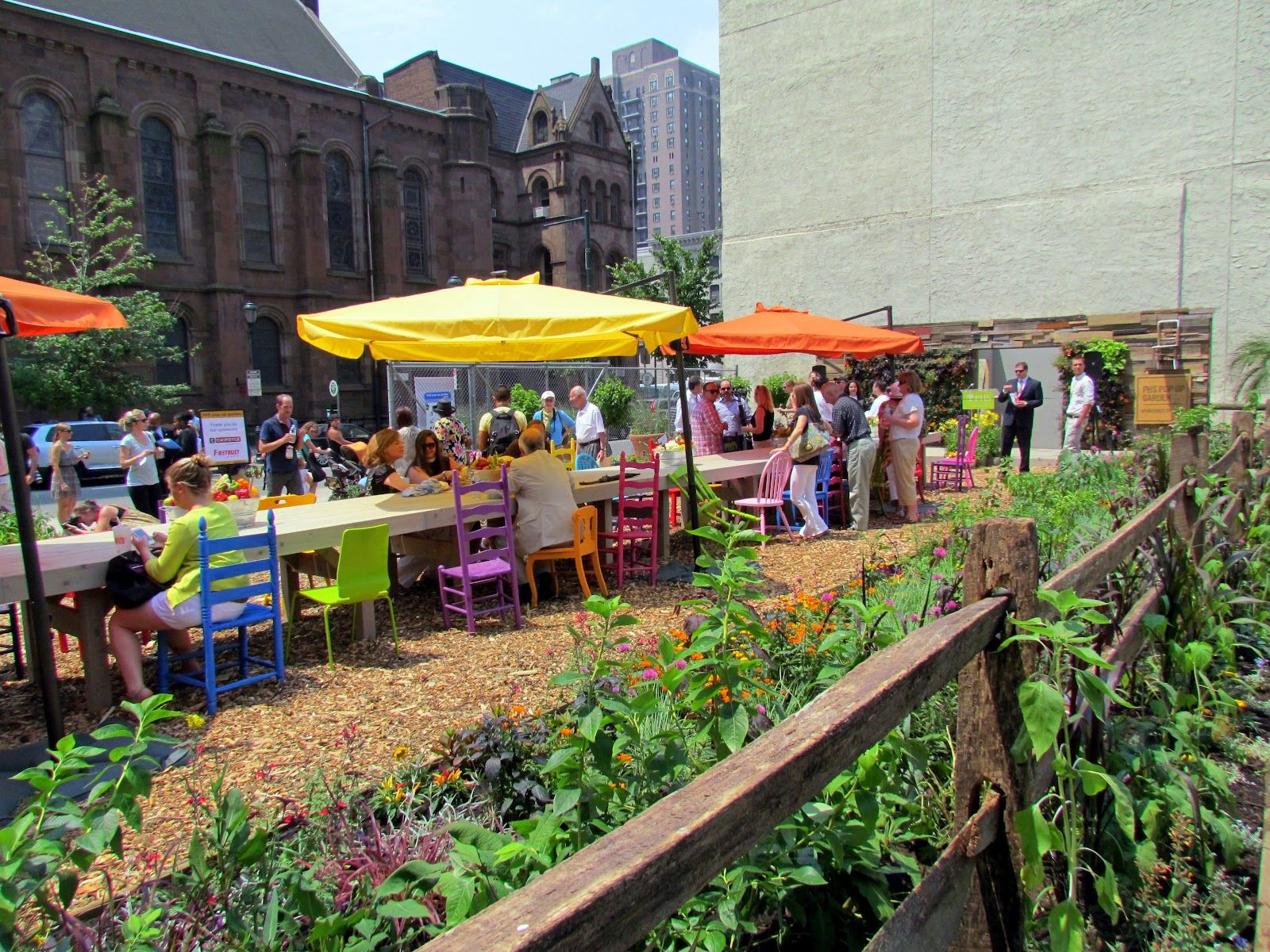 Picnic Learn And Grow This Summer In New Pop Up Community Garden
