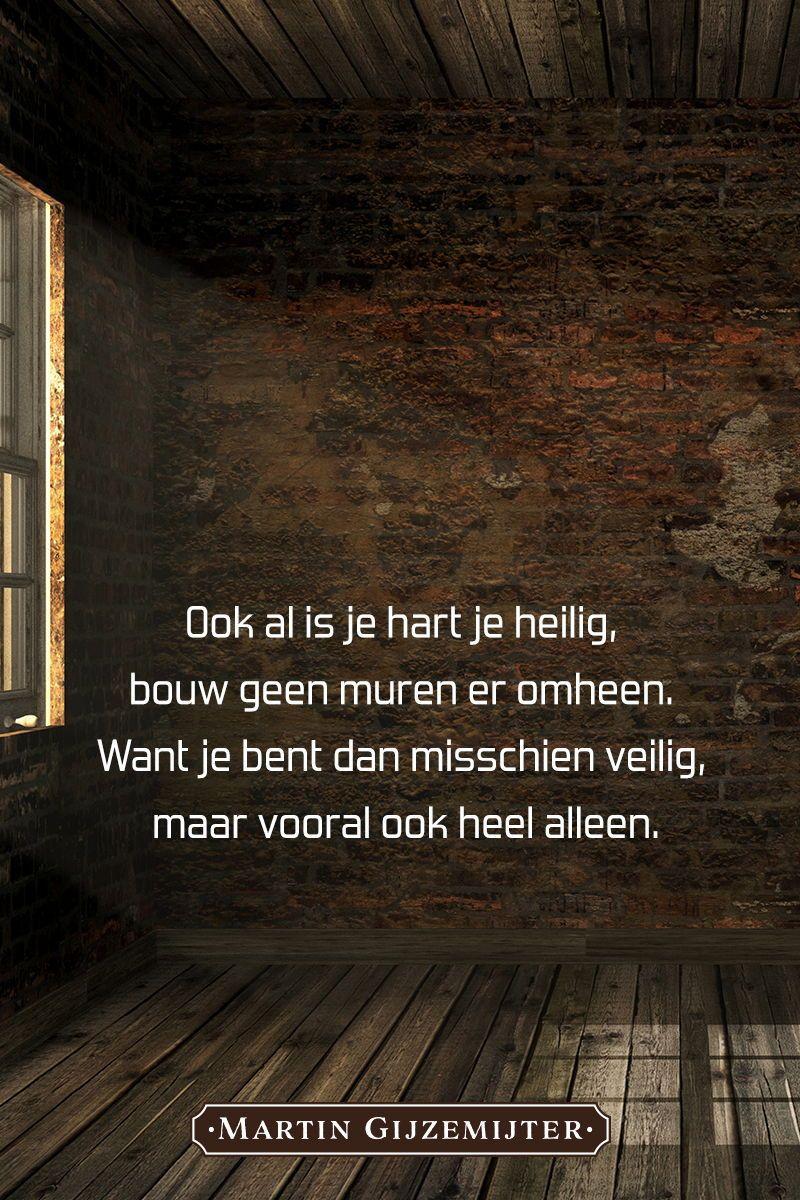 Spiksplinternieuw Gedicht over: Muren - Dichtgedachten #061 (met afbeeldingen OG-17
