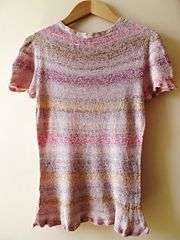 Ravelry: Summer Top Rose Shades pattern by Claudia Pacheco
