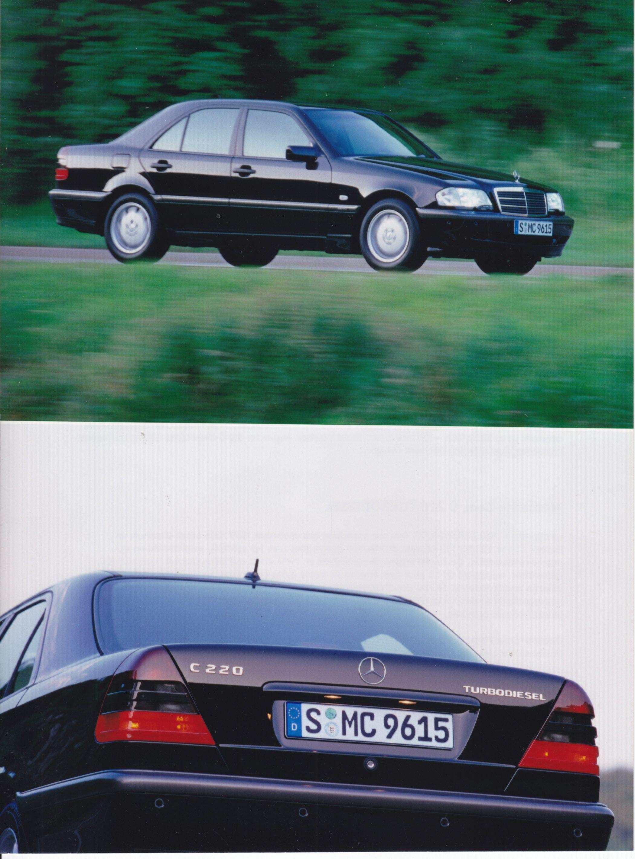 Mercedes-Benz C 220 Turbodiesel (# B97 F 3961) * | Cars | Mercedes