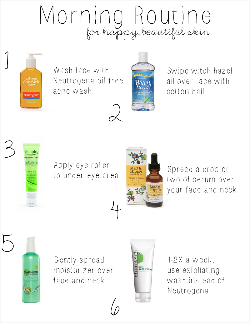 Yours Truly My Morning Skincare Routine Morning skin