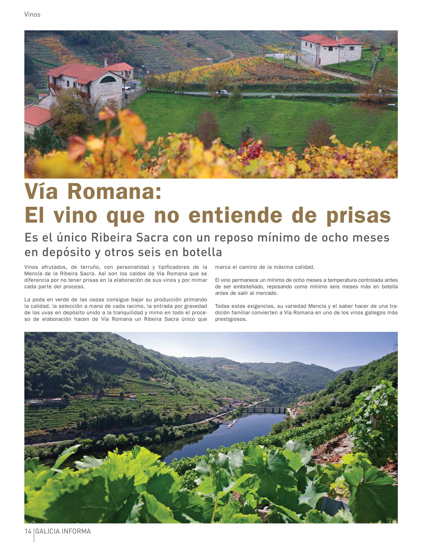 Pin De Galicia Informa En Revista Galicia Informa Nº 8 Via Romana