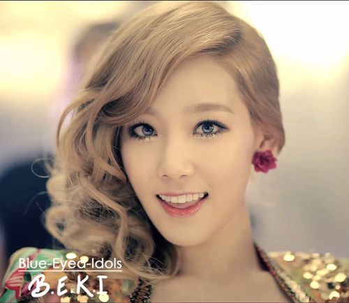 Pin By Maggie Chau On Blue Eyed Korean Idols 3 Taeyeon Girls Generation Kpop Girl Groups