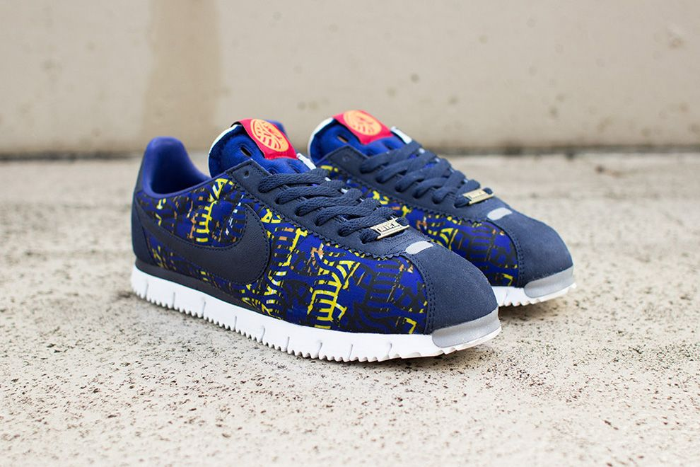 hot sale online e1778 dc862 ... Nike Cortez Year Of The Horse Blue Yellow . ...