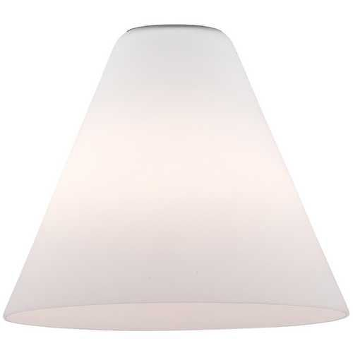 White Conical Glass Shade 1 3 4 Inch Fitter Opening At Destination Lighting Replacement Glass Shades Glass Shades Glass Lamp Shade