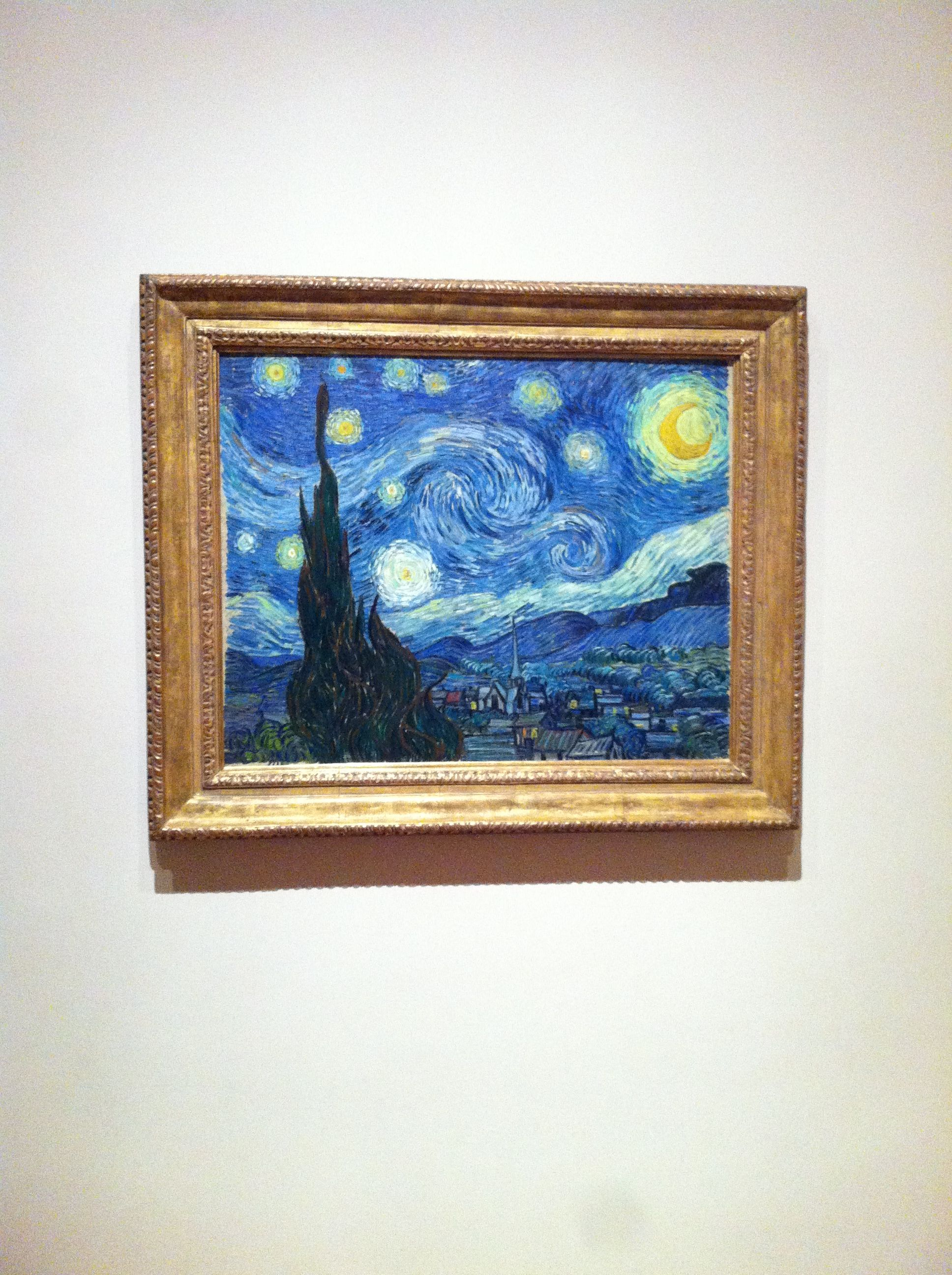 Starry Night In Person Moma Nyc