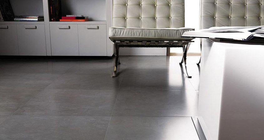 Decorative Wall Tiles For Living Room Glamorous Stonkermicrocemento Grisporcelanosa Pavimentos  Floor Design Ideas