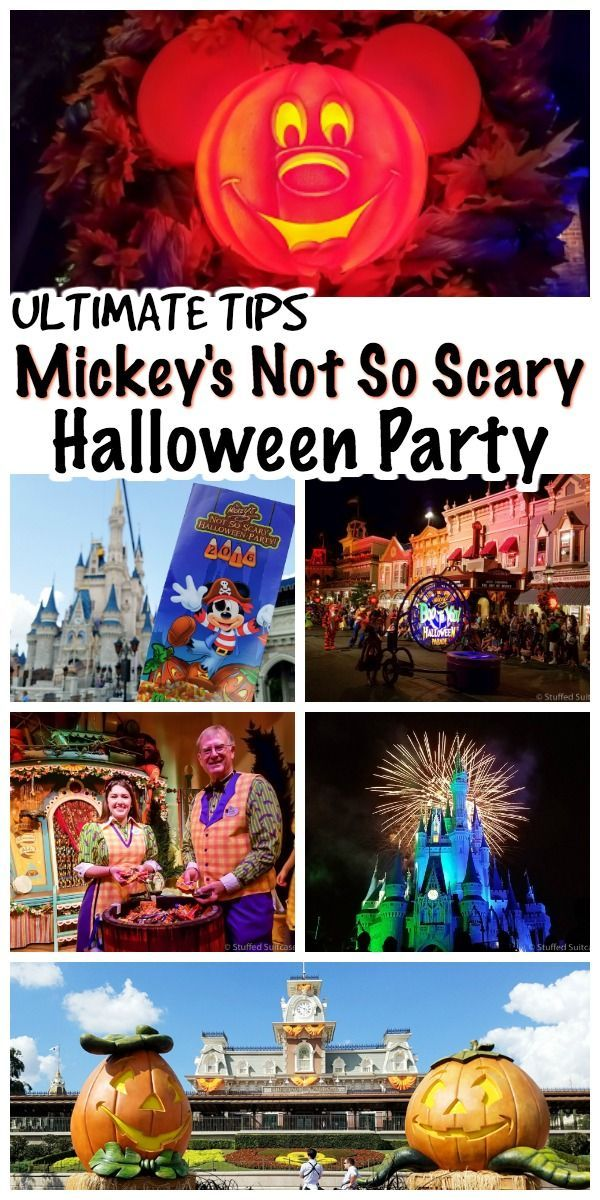 How to Make the Most out of Mickey\u0027s Not So Scary Halloween Party - not so scary halloween decorations