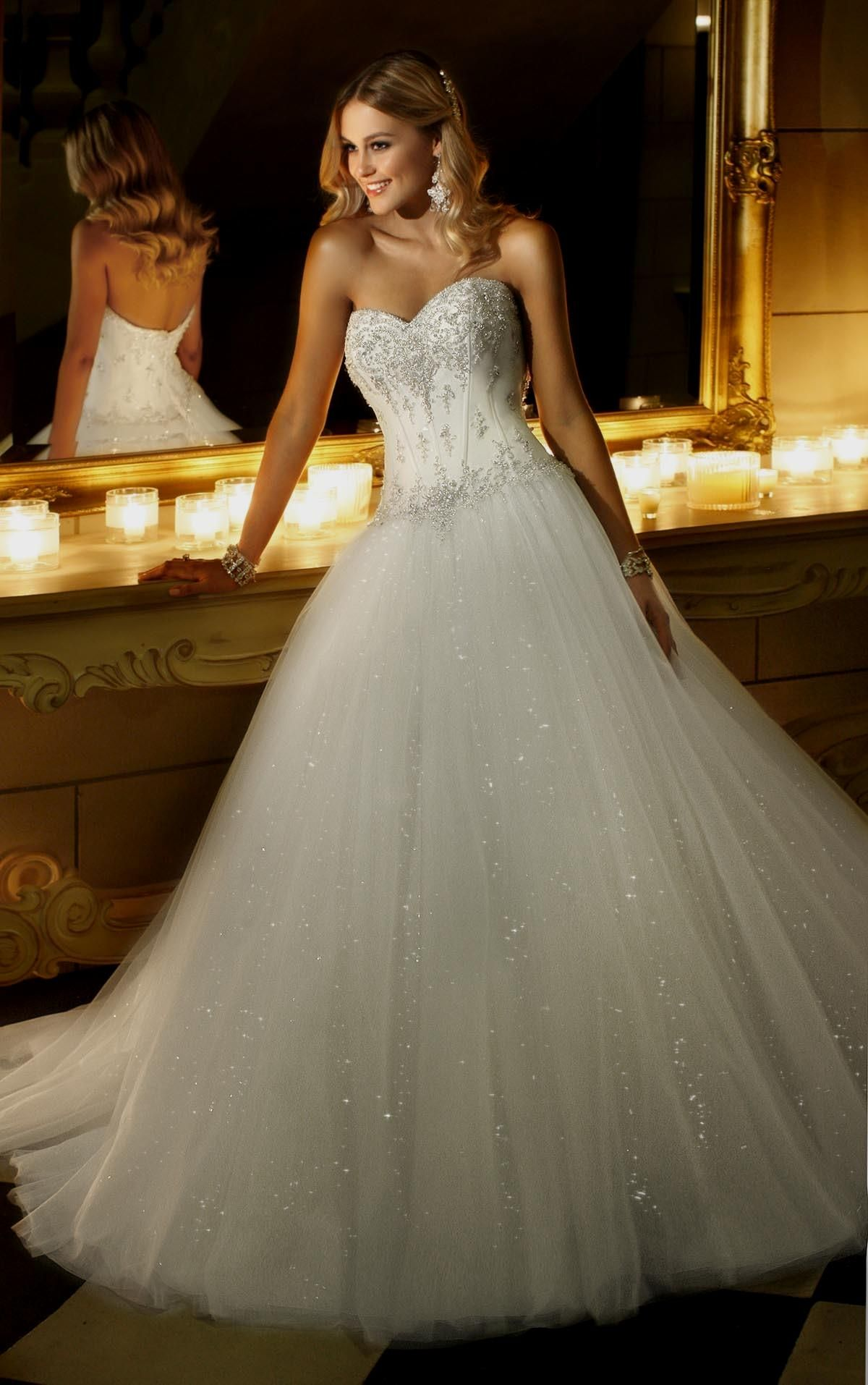 60+ Corset Style Wedding Dresses Ideas (With images
