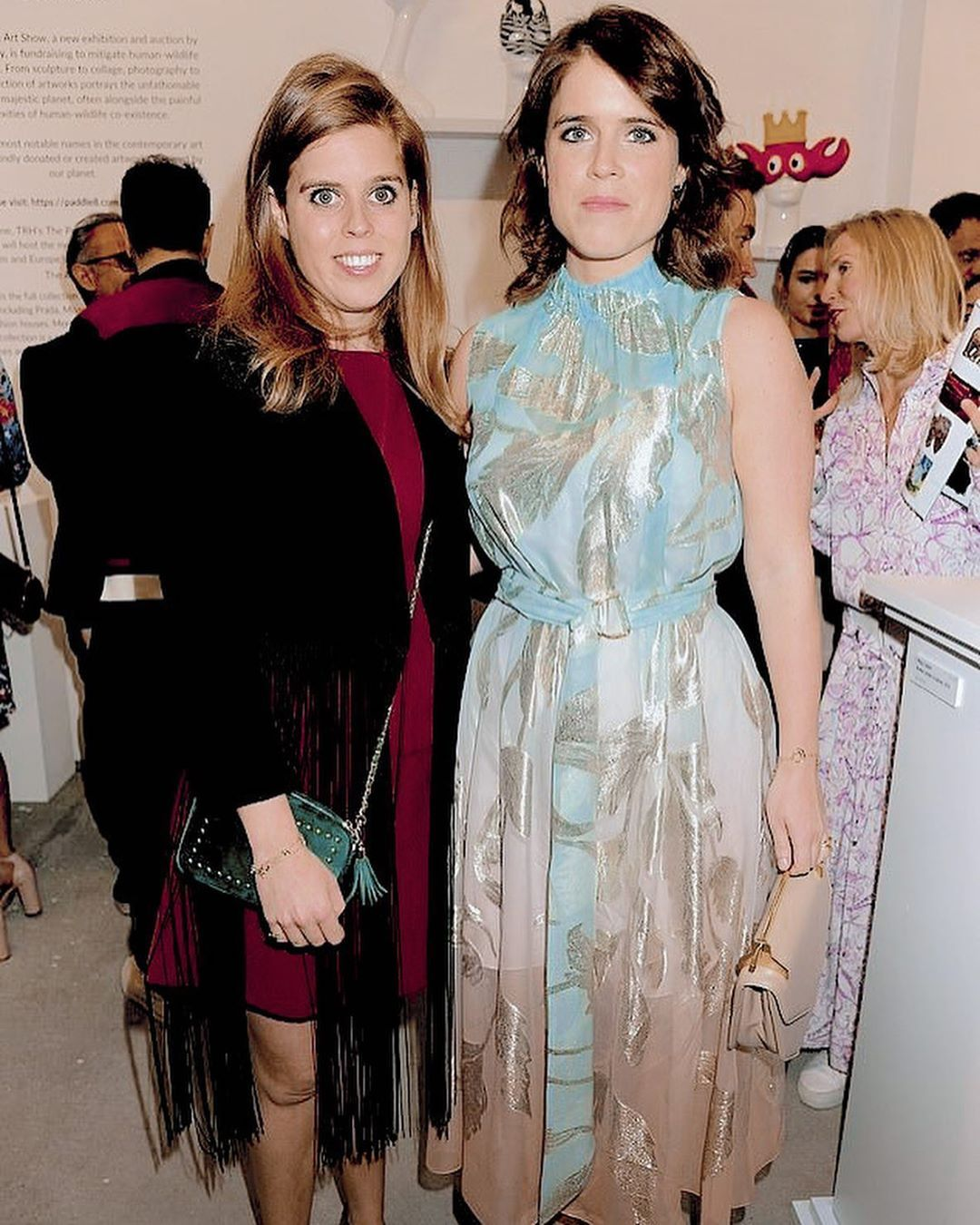 Swipe Left For More Photos Her Royal Highness Princess Beatrice Of York And Her Royal Highness Princess Eu Princess Eugenie Princess Beatrice Royal Dresses