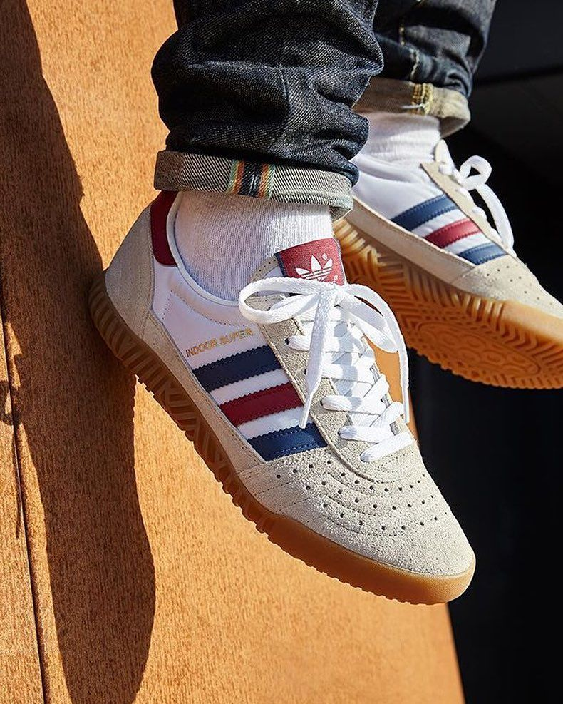 80s excellence from adidas originals the indoor super from asos looped 1161643 sneakers explore https vintage adidas snicker shoes mens shoes sneakers