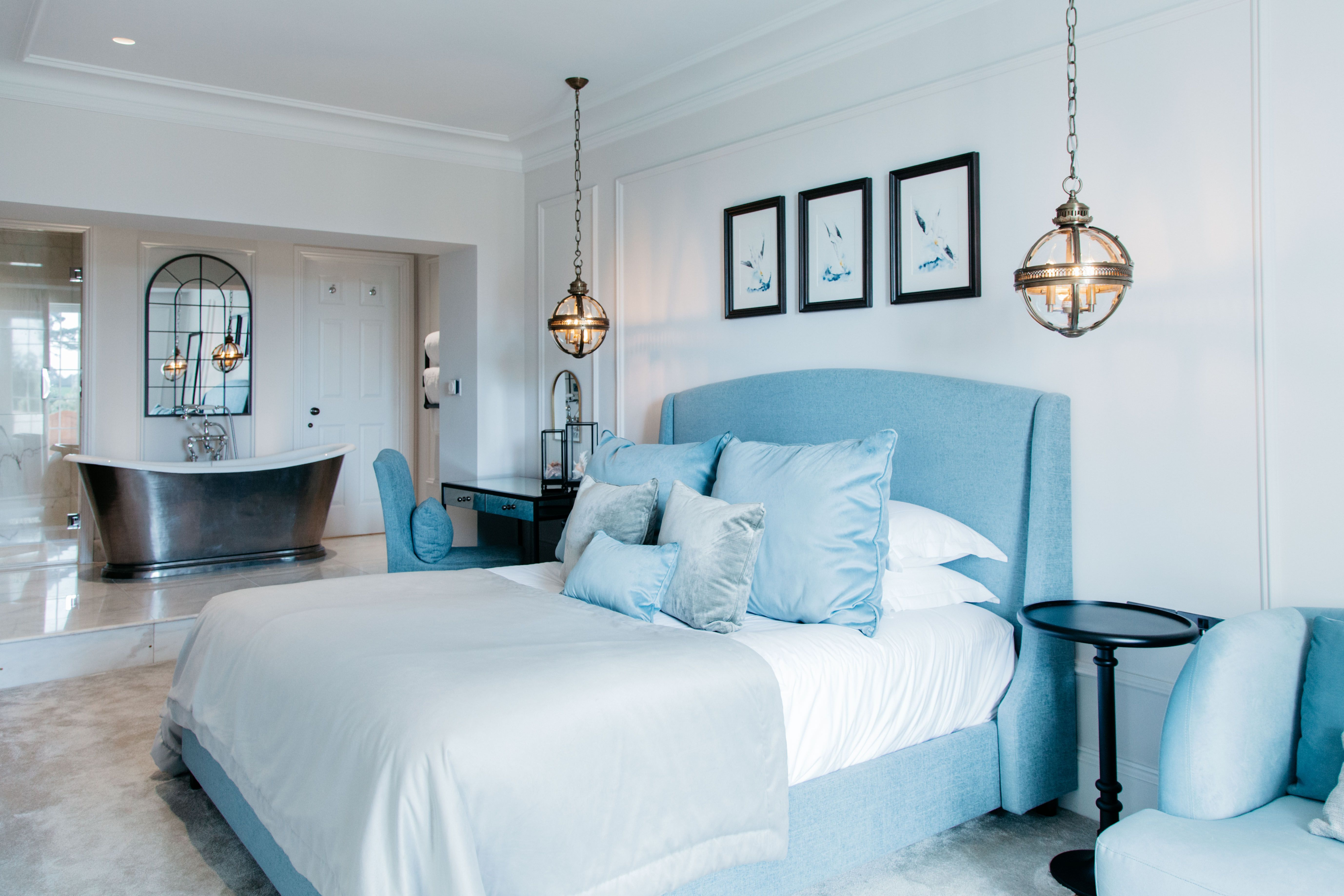 One of the most beautiful hotel bedrooms we have designed so far. It ...
