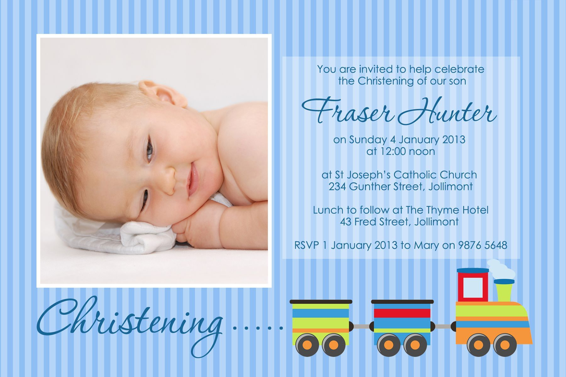 baptism-invitation-for-baby-boy | baptism invitations | Pinterest ...