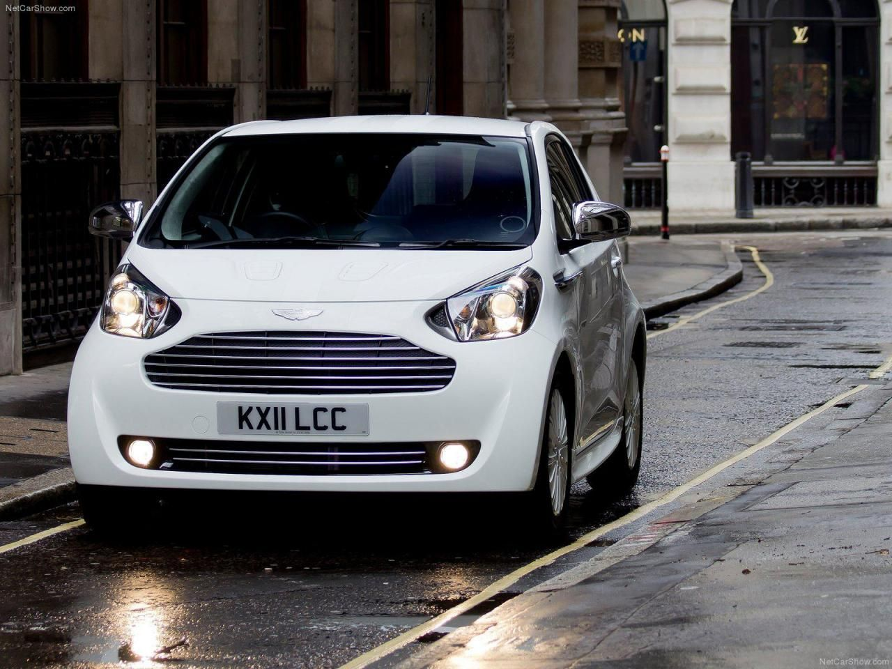 Aston Martin Cygnet. Shocking For An Aston Martin. It Looks Like Their  Version Of