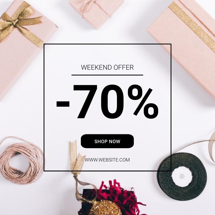 Instagram Sale Offer Template Postermywall Professional Website Design Business Flyer Website Design