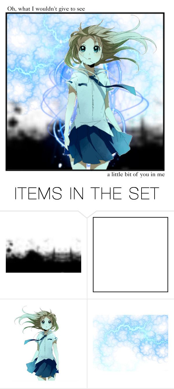 """A Little Bit Of You"" by otaku-dreamer ❤ liked on Polyvore featuring art"