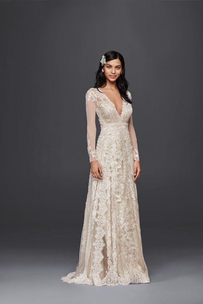 Beste Spitze Hochzeitskleid Pinterest Bilder - Brautkleider Ideen ...