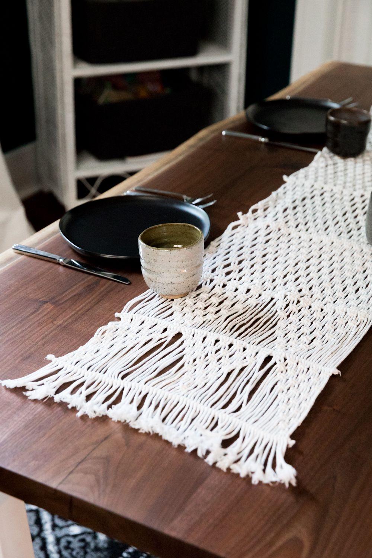 Raw Edge Black Walnut Table Wood Slab Dining Table Walnut Dining Table Custom Woodworking