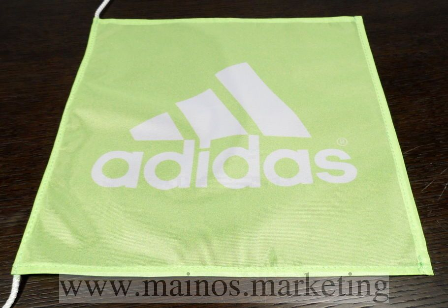 Purjevenen lippu Adidas http://www.mainos.marketing/fi/pildid/Mainosliput/