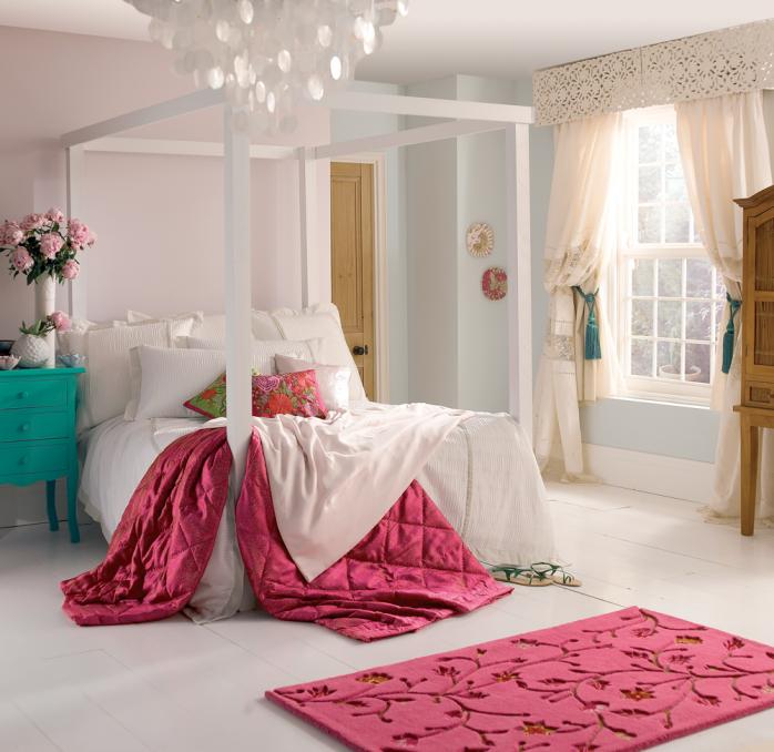 Dulux Zestaw Bedroom In A Box: Dulux Cornflower White