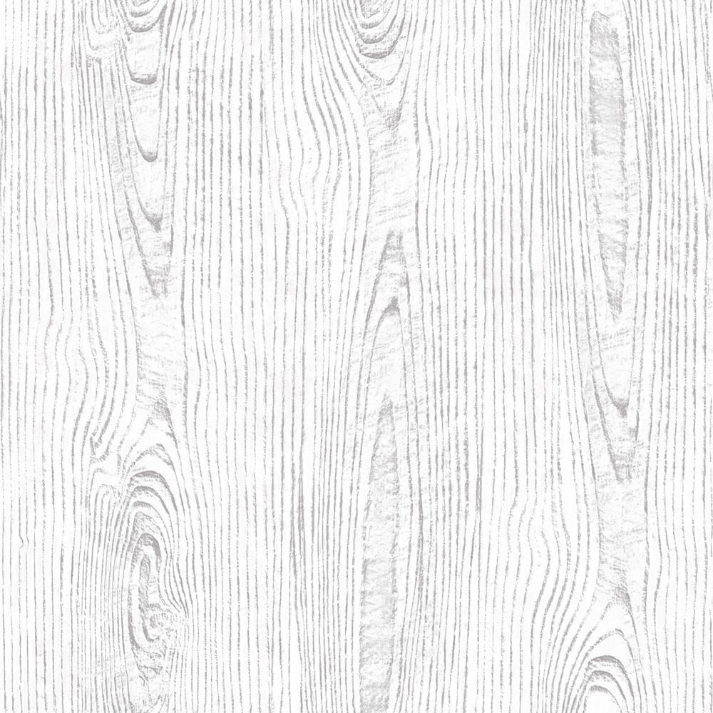 Arthouse White Wood Grain Fabric Strippable Wallpaper Covers 57 Sq Ft 610806 The Home Depot White Wood Wallpaper Wood Grain Wallpaper White Wood Texture