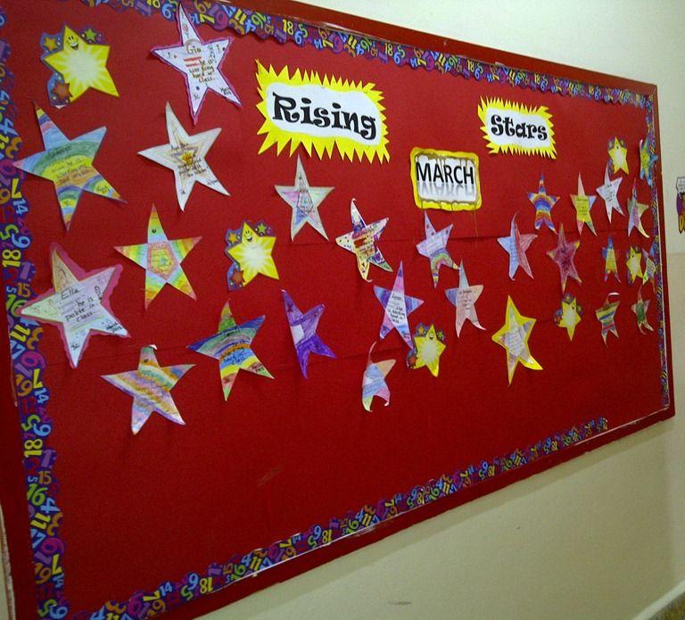 Bulletin Board Ideas Stars - Google Search