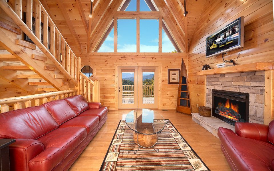 luxury cabin rentals | winter vacation ideas | cabin rentals