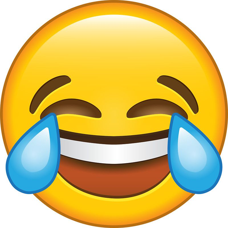 Laughing Crying Tears Of Joy Emoji Sticker By Stylecomfy Laughing Emoji Funny Cat Faces Challenges Funny