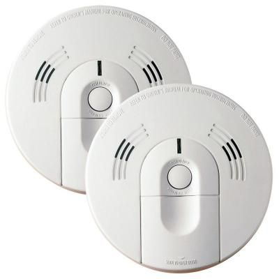 kidde intelligent battery operated combination smoke and carbon monoxide alarm 2pack 70