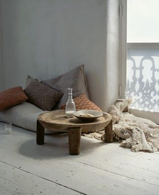 Sometimes All You Need To Complete A Small Sitting Room Or Outdoor E Is Few Floor Cushions Cozy Throw And Tea Table