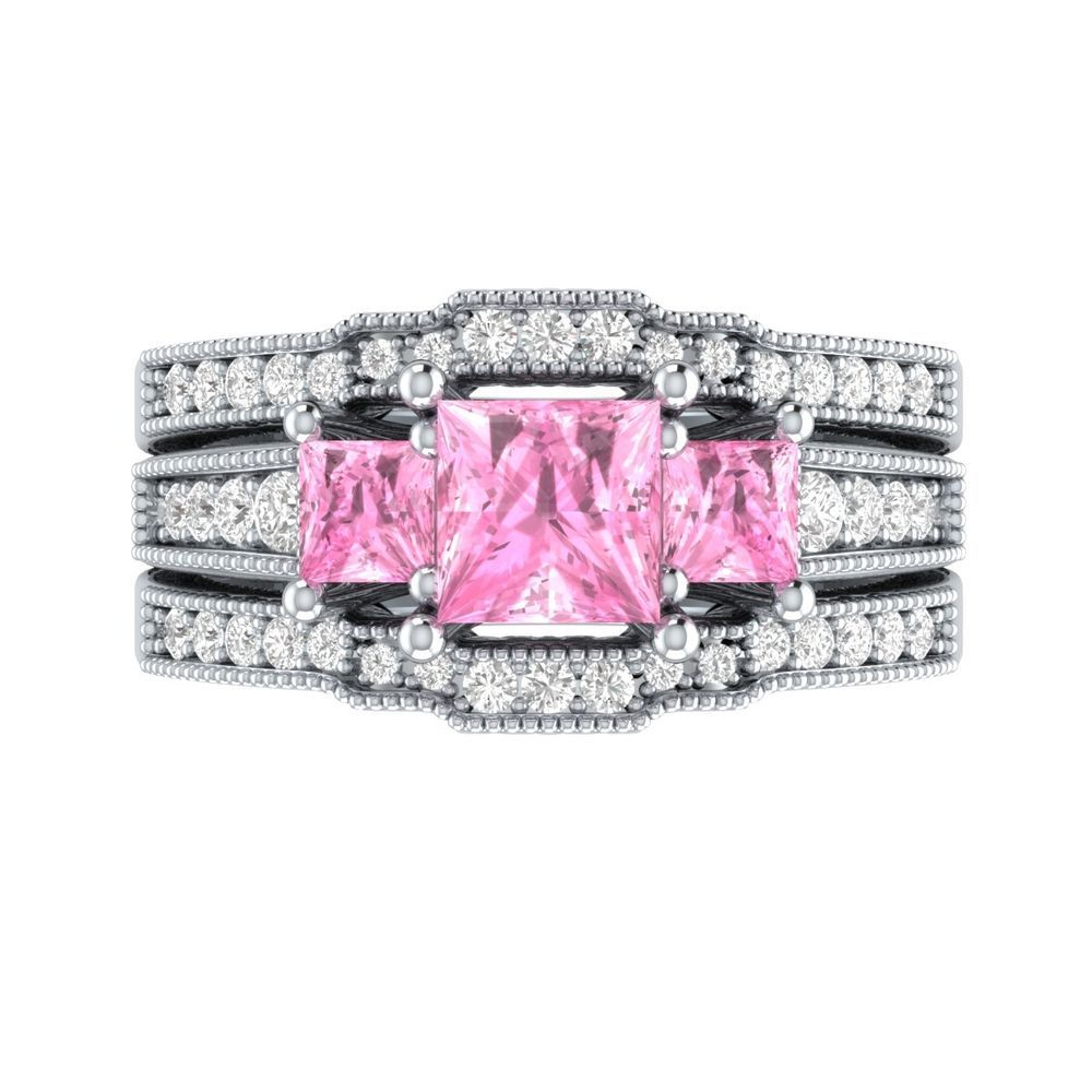 Pin by Demira Jewels on Wedding Bridal Ring Set | Pinterest
