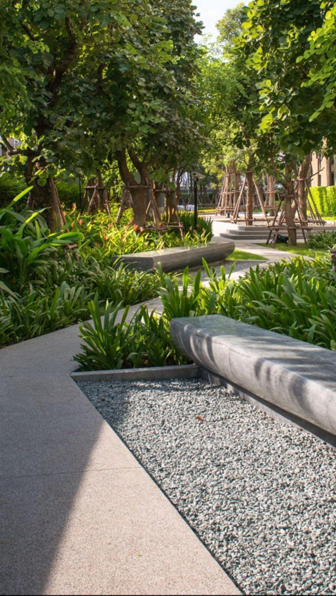 Pin By Jann Rodriguez On Garden Seating In 2020 Landscape Architecture Design Landscape Design Modern Landscaping