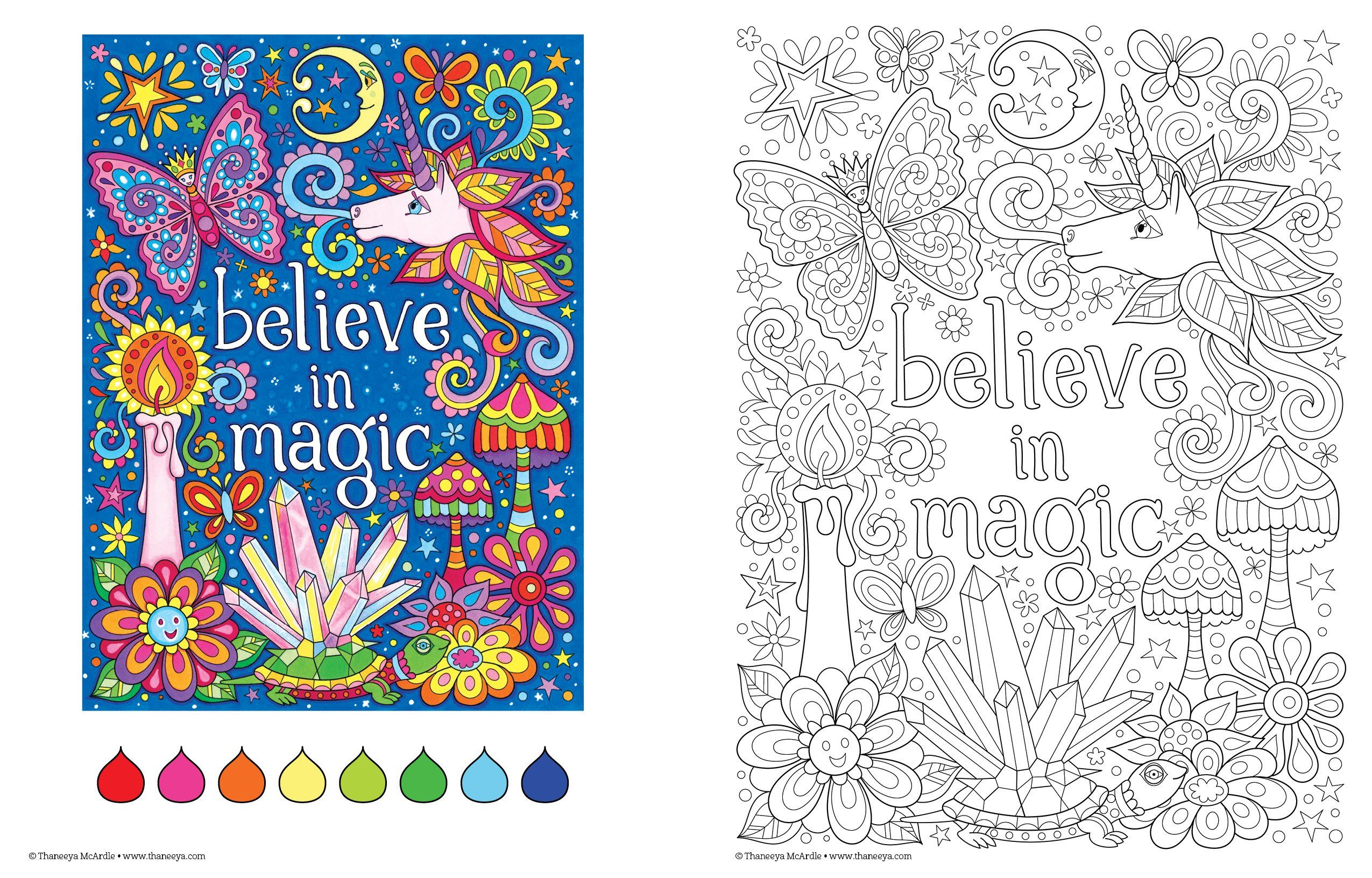 Free Spirit Coloring Book Coloring Is Fun Thaneeya Mcardle 9781574219975 Amazon Com Books Coloring Books Relaxing Coloring Book Art Activities