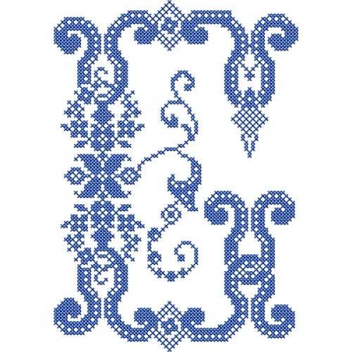 French cross stitch alphabet embroidery stash alfabet