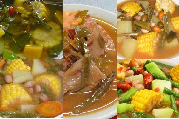 Resep Bumbu Dan Cara Membuat Masakan Sayur Asem Segar Nikmat Resep Masakan Indonesia Resep Masakan Masakan